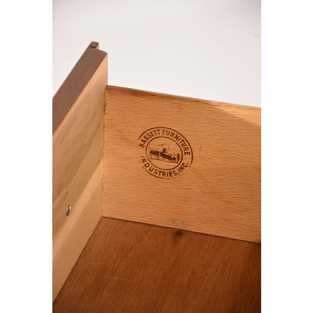Mid-Century Modern-style Desk by Basset Furniture - Image 7 of 8