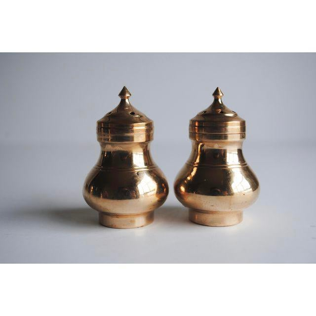 Image of Vintage Salt & Pepper Shakers and Mustard Jar