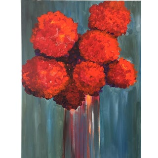 """""""All About Red"""" Painting"""