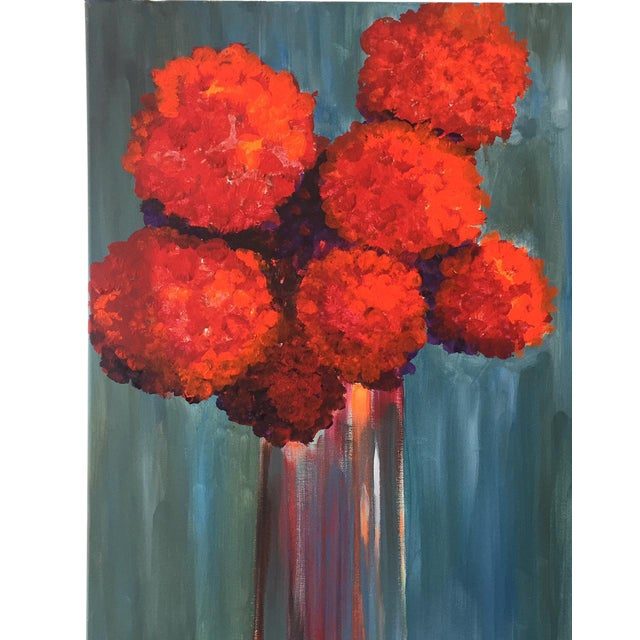 """All About Red"" Painting - Image 1 of 3"