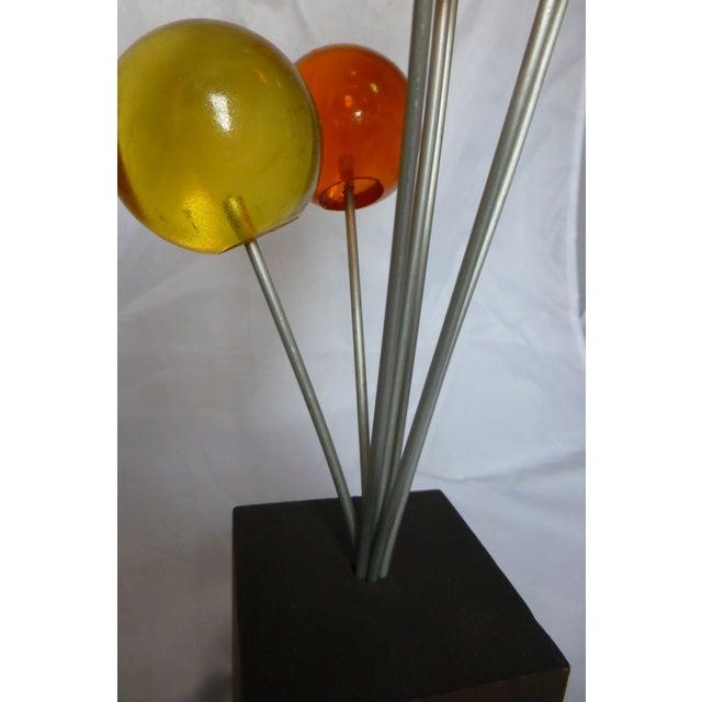 Mid Century Lucite Lollipop Sculpture - Image 5 of 9