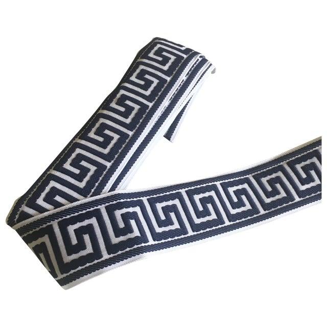Blue & White Greek Key Trim Banding - Image 1 of 8