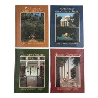 """Great American Homes"" Book Collection - Set of 4"