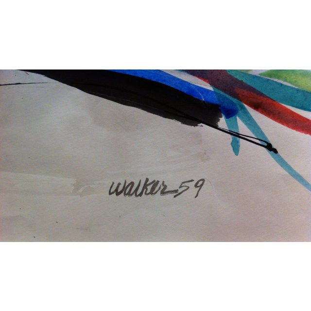 Image of Clay Walker Untitled Watercolor