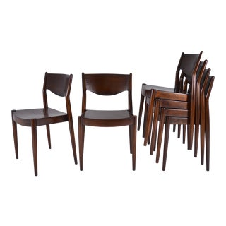 Cm Madsens Danish Stacking Chairs for John Stuart, circa 1960s