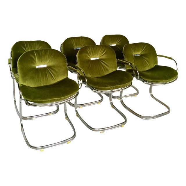 Sabrina Chairs by Gastone Rinaldi - S/6 - Image 1 of 9