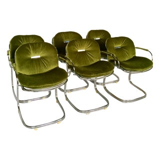 Sabrina Chairs by Gastone Rinaldi - S/6