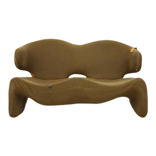 """Olivier Mourgue """"Djinn Settee"""" for Airborne, Reupholstery Needed"""