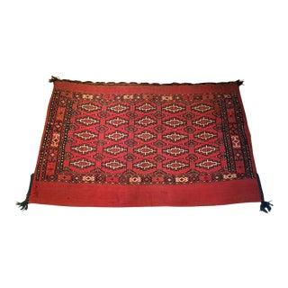 Antique Tribal Persian Wool Saddle Bag