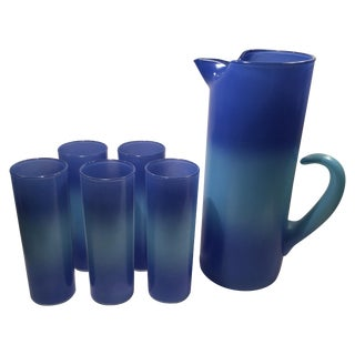 Blendo Pitcher and Glass Set - 6 Pieces