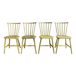 Swedish Windsor Style Chairs - Set of 4