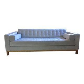 Custom Light Grey Couch