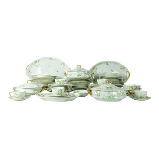 France Porcelain Limoges Service Dinner