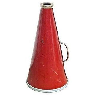 Vintage Red Bullhorn
