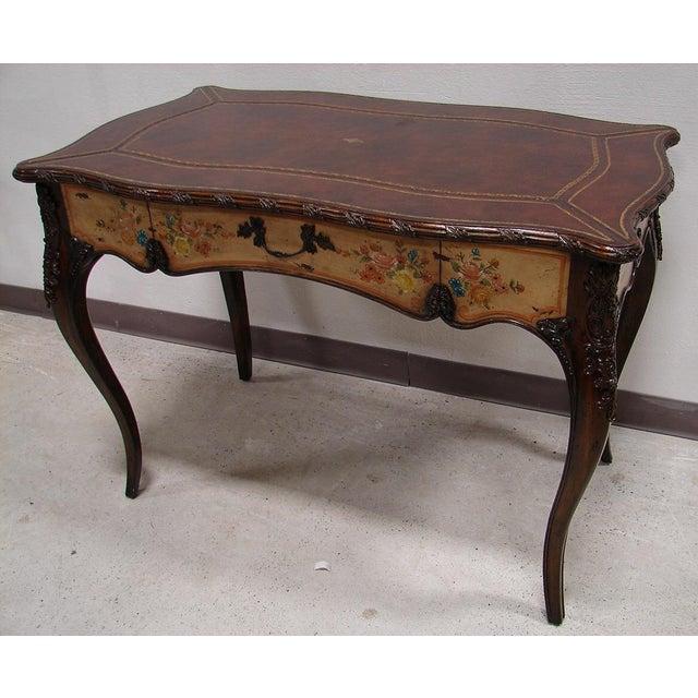 Maitland Smith Ornate French Style Desk & Vanity - Image 2 of 5