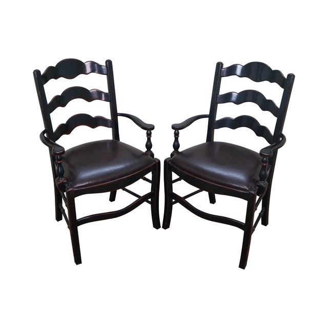 Theodore Alexander Ateliers Chairs - A Pair - Image 1 of 10