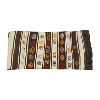 Turkish Kilim Floor Pillow Cover