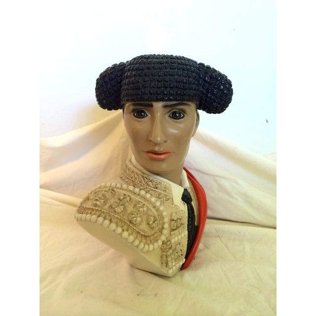 Image of Mid-Century Matador Bust