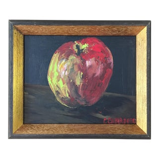 """Carole's Apple"" Original Still-Life Painting"