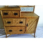 Image of Late Victorian Bamboo Chest-of-Drawers