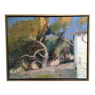 California Stables Oil Painting