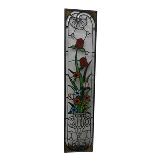 Multi-Colored Stained Glass Panel