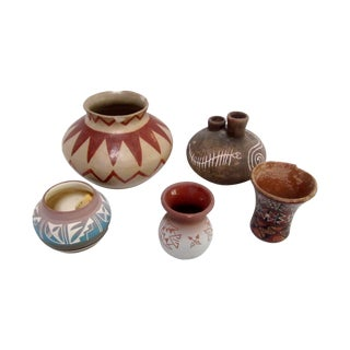 Signed Vintage Southwestern Pottery Collection
