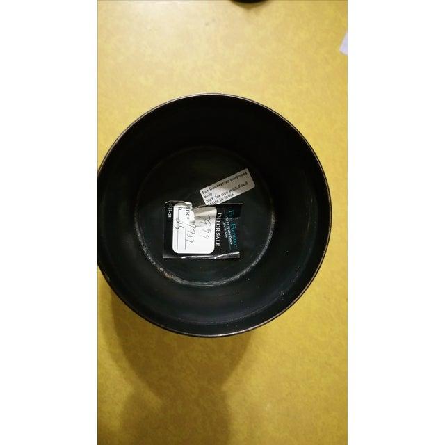 Black & Gold Brass Ginger Jar - Image 5 of 5