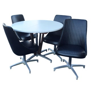 Used Amp Vintage Dining Table Amp Chair Sets For Sale At