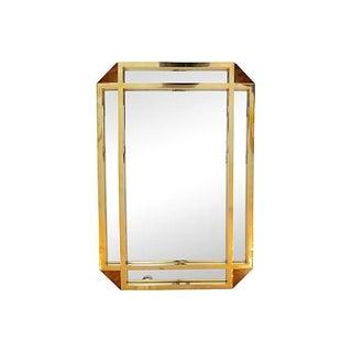 Large Milo Baughman Mirror