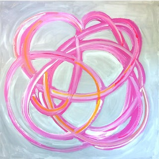 'Mojo' Original Abstract Painting by Linnea Heide