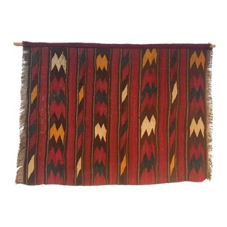 Vintage Hanging Kilim Textile