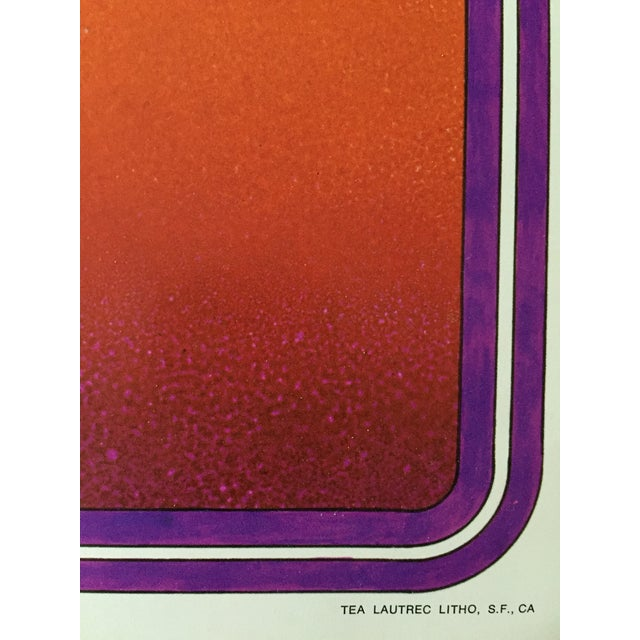 Rolling Stones 1969 Tour Original Vintage Poster - Image 4 of 5
