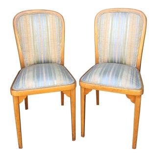 Antique Beidermeier Side Chairs - A Pair