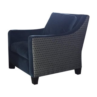 Lee Industries Two-Tone Club Chair