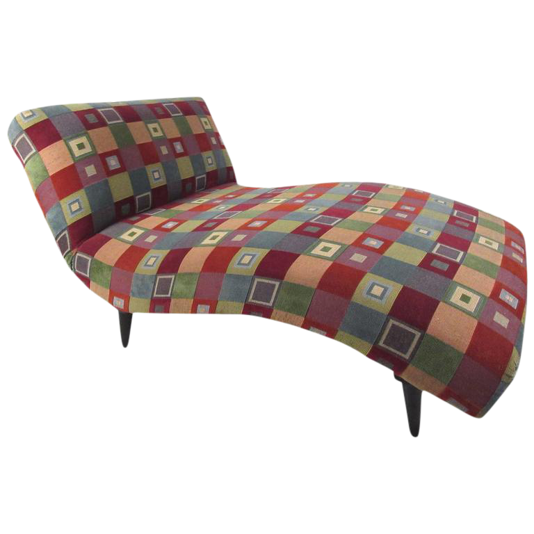 midcentury modern style chaise lounge