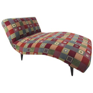 Mid-Century Modern Style Chaise Lounge