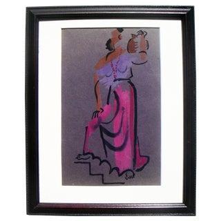 Modernist Female Figure by Robert Gilberg