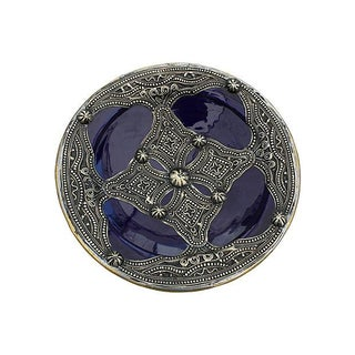 Blue Moroccan Ceramic Bowl