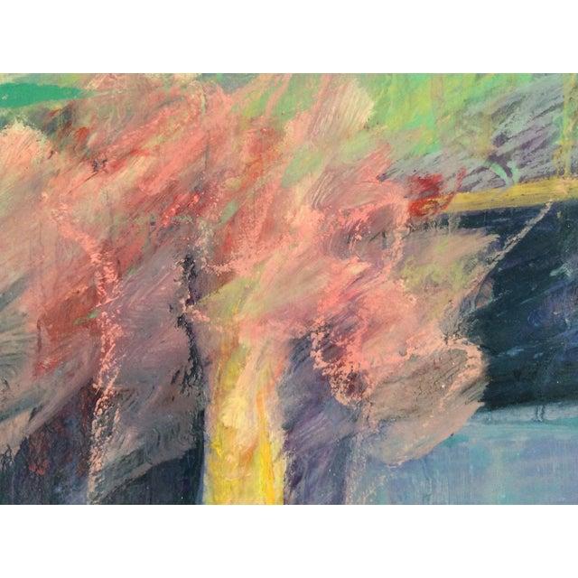 Barbara Borck-Hart Oil Pastel - Untitled #1 - Image 4 of 4
