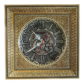 Persian Hand Crafted Clock
