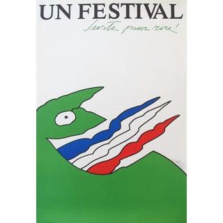 Original 1983 Montreal Just for Laughs Festival Poster Vittorio