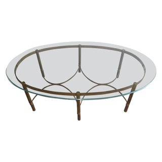 Mastercraft Brass CoffeeTable