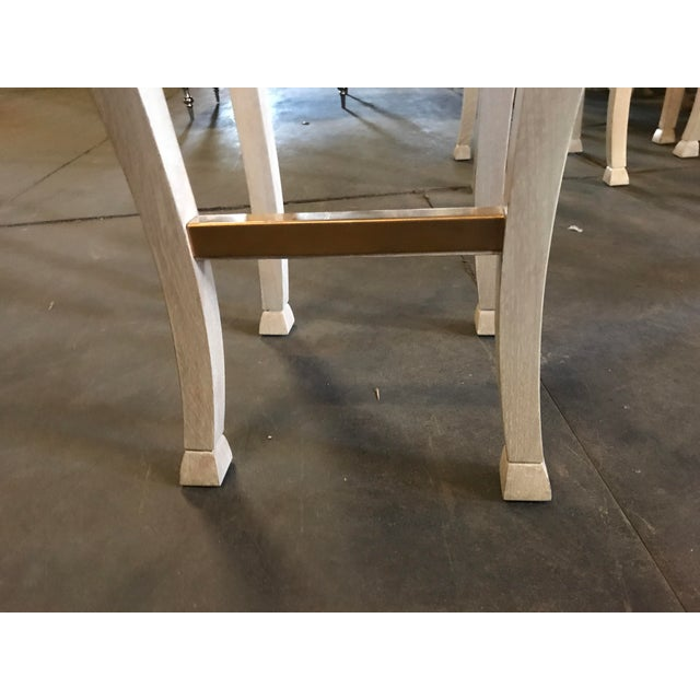 """Truex American Furniture """"Golden Gate"""" Bar Stool (Pair Available) - Image 4 of 6"""