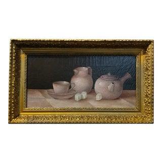 19th century Still Life -Chinese Tea pots -c.1880s