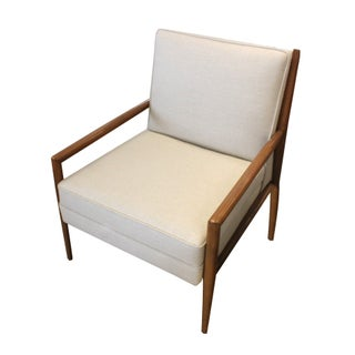 TH Robsjohn-Gibbings Chair in White