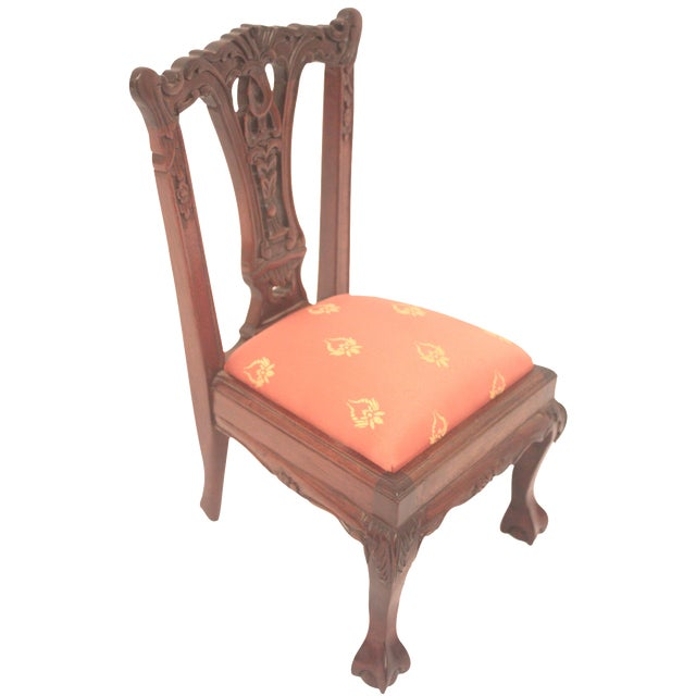 Chippendale-Style Doll Chair - Image 1 of 7