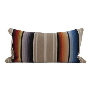 Serape Blanket Bolster Pillow