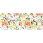 Image of Robert Allen Neo Toille Coral Fabric - 12 Yards