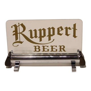 "1930's Original Light Up Sign "" Ruppert Beer """